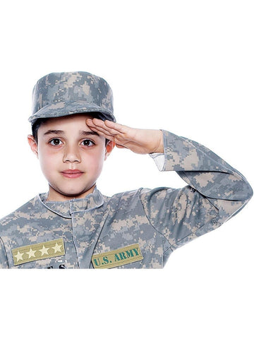 Child's Army Patrol Costume Hat-COSTUMEISH