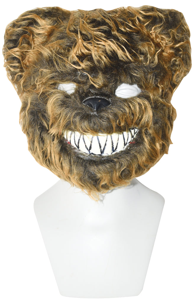 Scary Terror Bear Plush Costume Mask