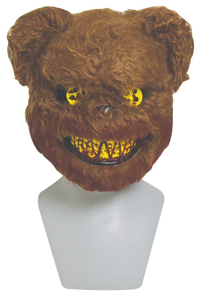 Scary Stuffed Bear Costume Mask