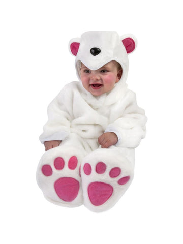 Baby Polar Bear Costume-COSTUMEISH