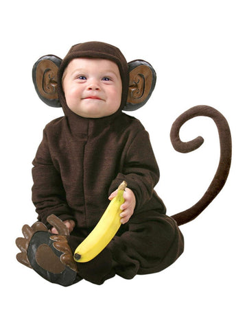 Infant Monkey Costume-COSTUMEISH