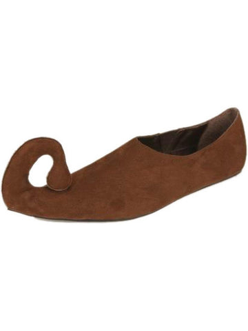 Adult Women's Suede Renaissance Shoes-COSTUMEISH
