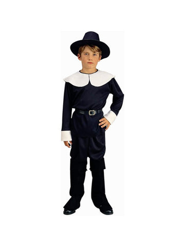 Child Pilgrim Boy Costume