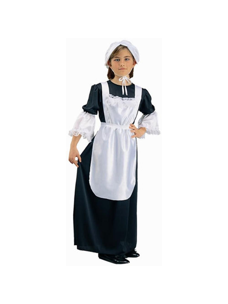 Child Pilgrim Girl Costume-COSTUMEISH
