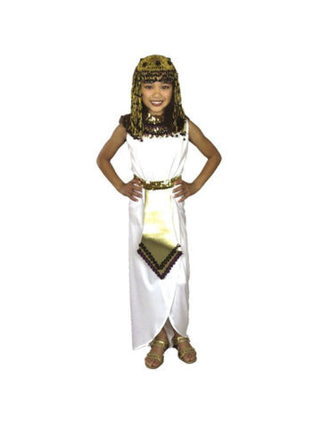 Child White Cleopatra Costume