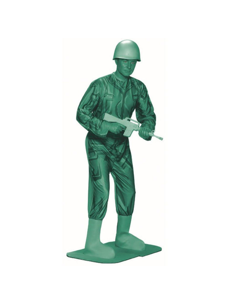 Adult Green Army Man Costume-COSTUMEISH
