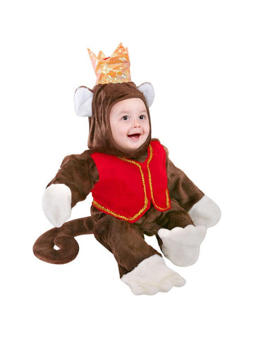 Baby Circus Monkey Costume-COSTUMEISH