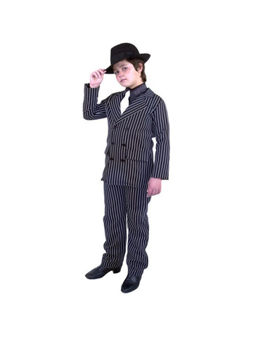 Child Double Breasted Gangster Suit Costume-COSTUMEISH