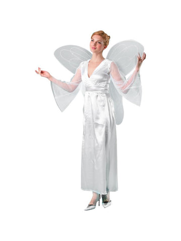 Adult Large White Costume Wings