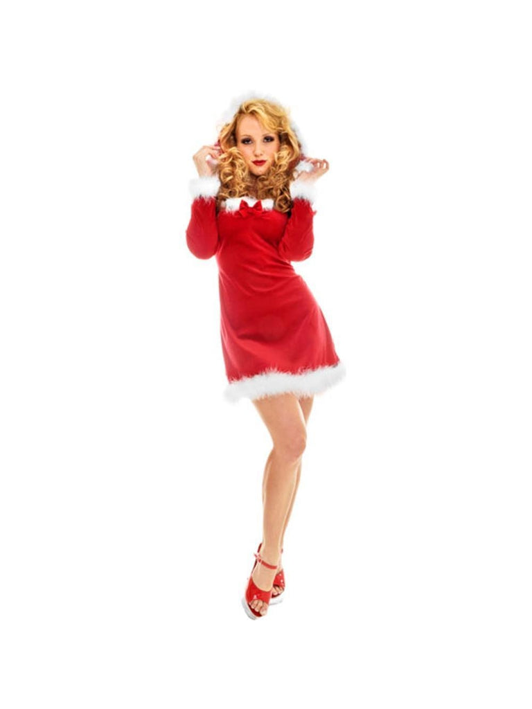 Adult Sexy Miss Kringle Costume-COSTUMEISH