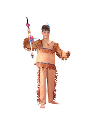 Child Native Indian Boy Costume