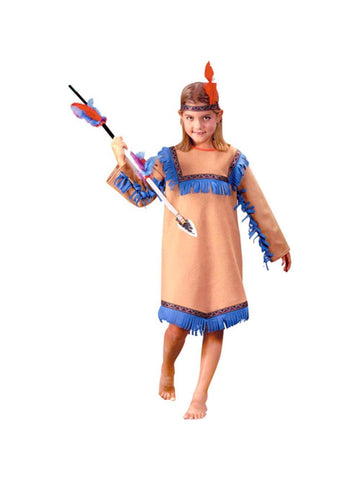 Child Native Indian Girl Costume