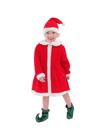Child Santa's Helper Costume-COSTUMEISH