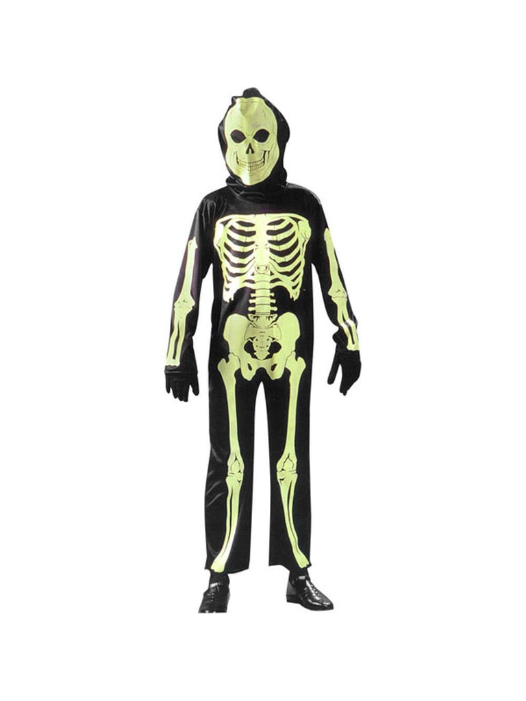 Child Glow-In-The-Dark Skeleton Costume-COSTUMEISH