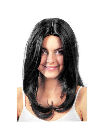Adult Black Starlet Wig-COSTUMEISH