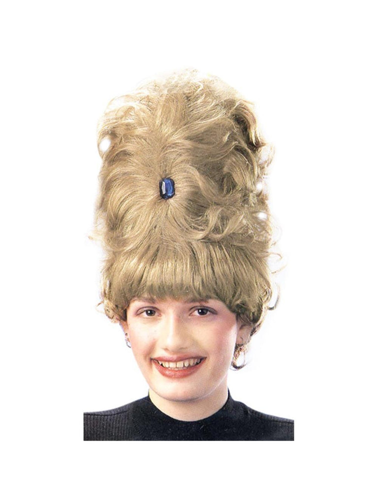 Adult Blonde Beehive Wig-COSTUMEISH
