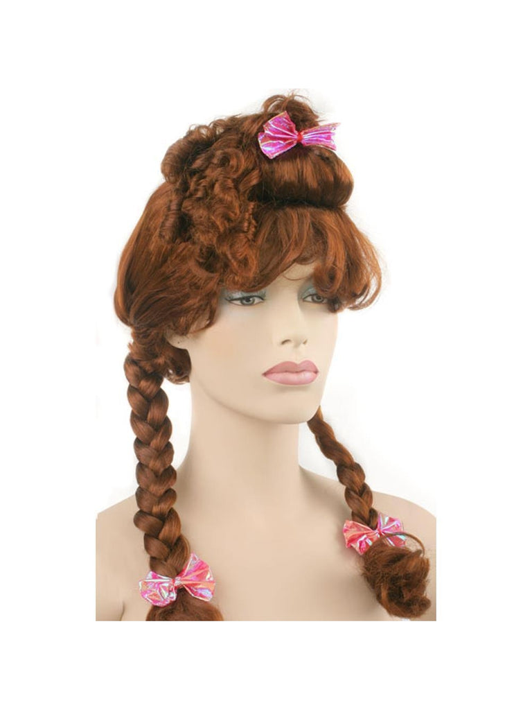Adult Brown Fairytale Wig-COSTUMEISH