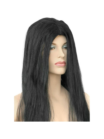 Adult Black Witch Wig-COSTUMEISH