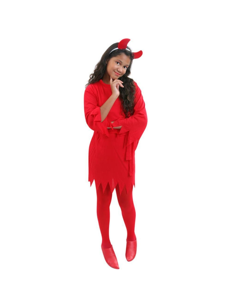 Child Classic Devil Girl Costume-COSTUMEISH