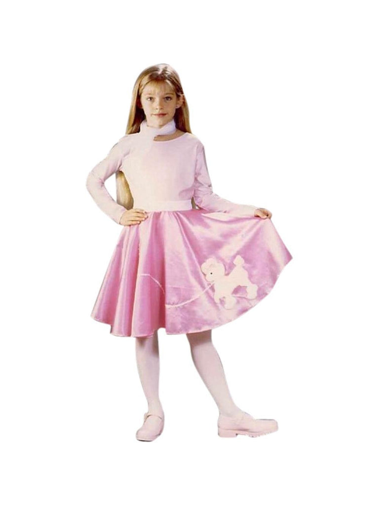 Childs 50s Poodle Skirt Costume-COSTUMEISH