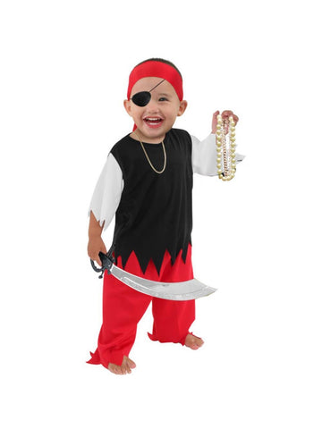 Toddler Economy Pirate Costume