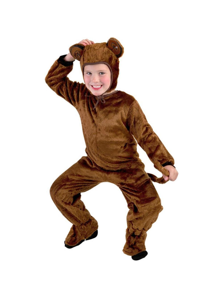 Child Fur Monkey Costume-COSTUMEISH