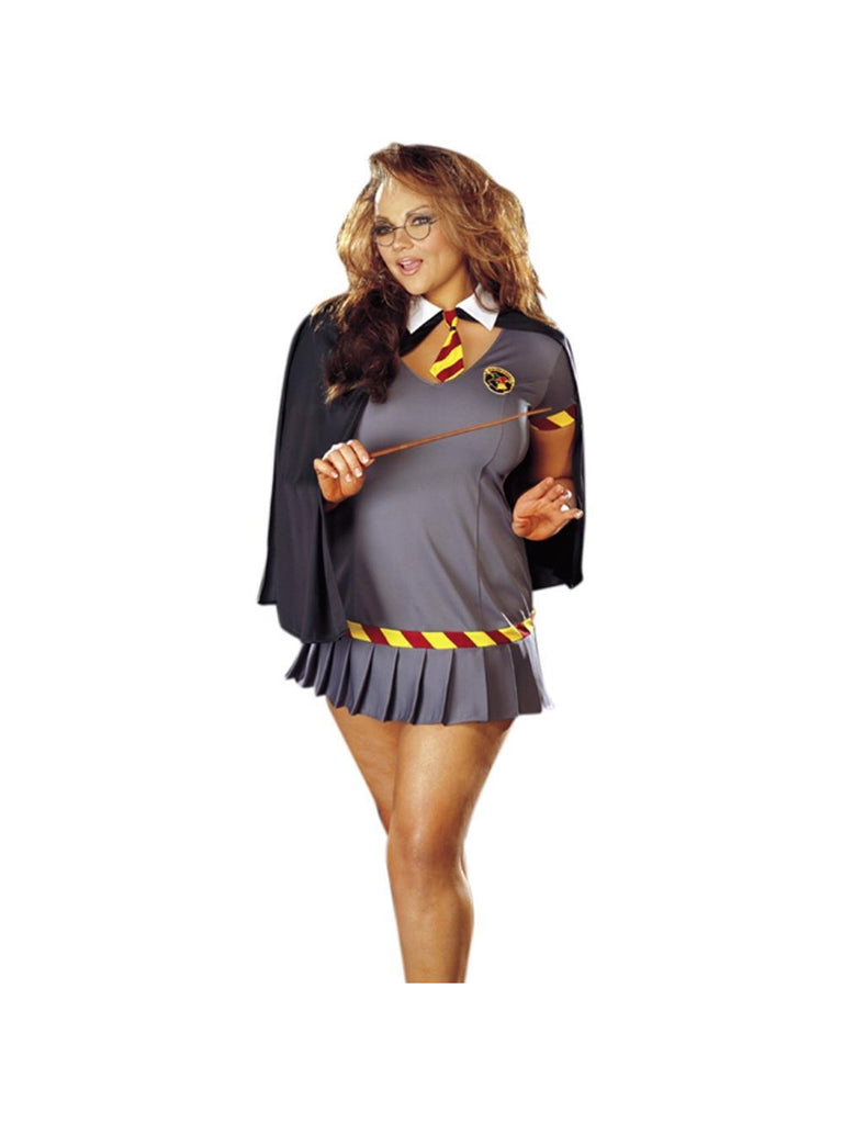 Adult Plus Size Sexy Wizard Girl Costume | Costumeish – Cheap ...