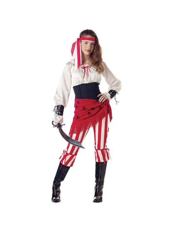Teen Pirate Princess Costume-COSTUMEISH