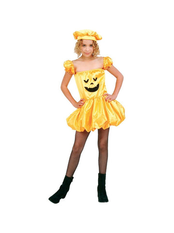 Child Jack-O-Lantern Dress Costume