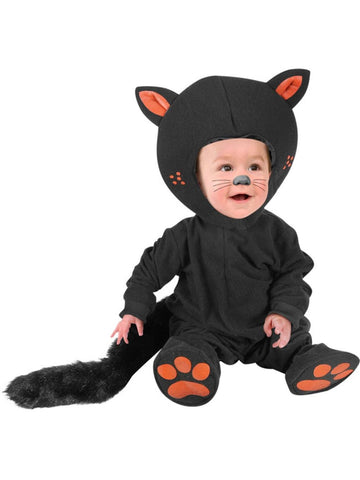 Infant Baby Black Cat Costume
