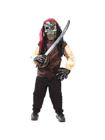 Childs Easy Pirate Costume-COSTUMEISH