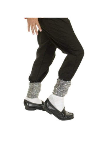 Adult Glitter Michael Jackson Legging Socks