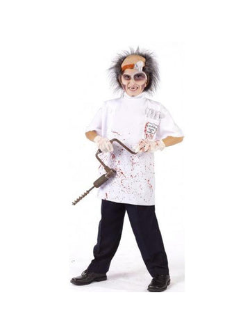 Child Dr. Killer Driller Costume