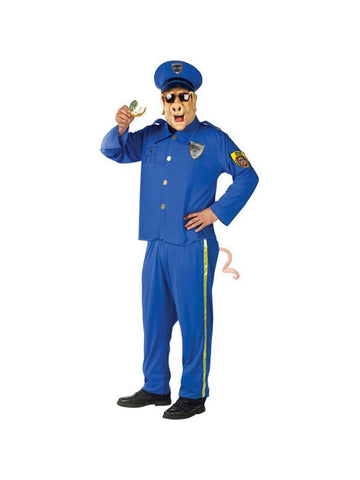 Adult Officer McBacon Funny Police Costume