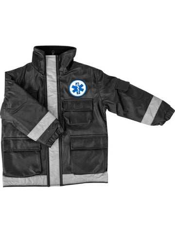 Child Black Paramedic Jacket-COSTUMEISH