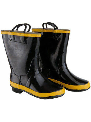 Child Black Paramedics Boots