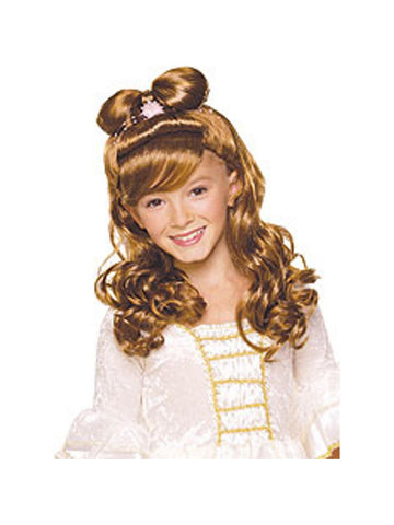 Brown Elegant Princess Wig