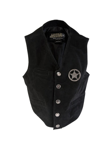 Child Leather Sheriff's Vest