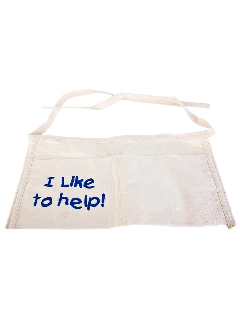 "Child ""I Like To Help"" Apron-COSTUMEISH"