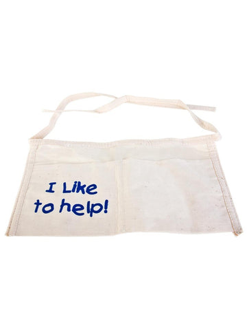 "Child ""I Like To Help"" Apron"