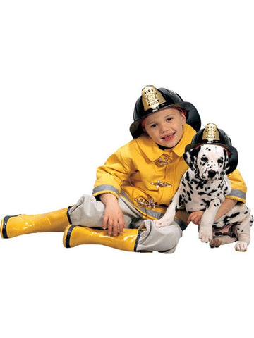 Child Fireman Costume Set