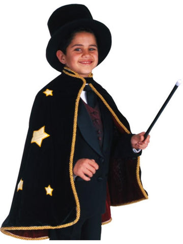 Child Magician Cape Costume