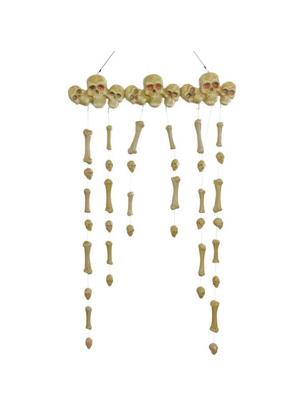 Animated Hanging Bones Doorway Halloween Prop-COSTUMEISH