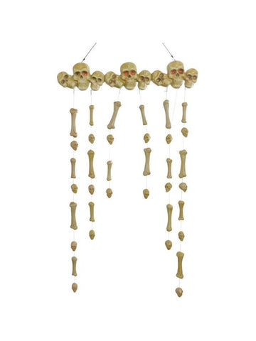 Animated Hanging Bones Doorway Halloween Prop