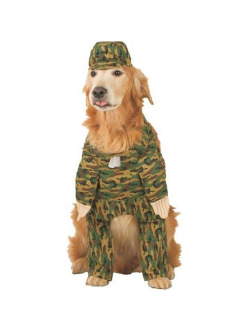 Army Dog Costume-COSTUMEISH