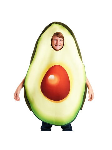 child-avocado-costume