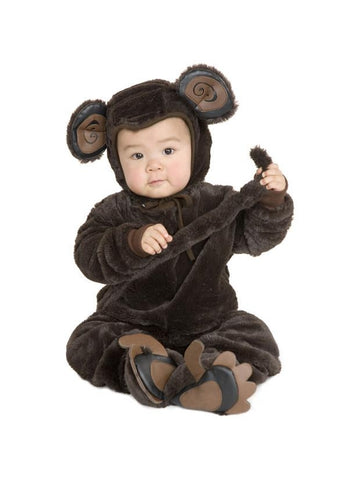 Baby Fur Monkey Costume-COSTUMEISH