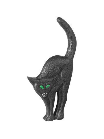 Black Cat Halloween Yard Decoration