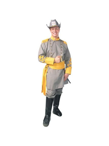 Adult Confederate Officer Costume-COSTUMEISH
