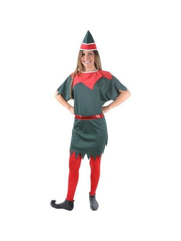 Adult Female Elf Costume